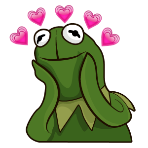Kermit the Frog in Love Meme