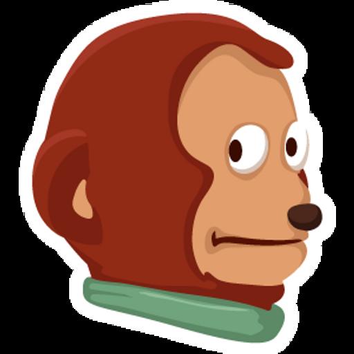 Awkward Look Monkey Puppet