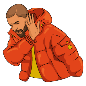Drake Hotline Bling NO Meme