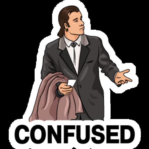 Confused Travolta Meme