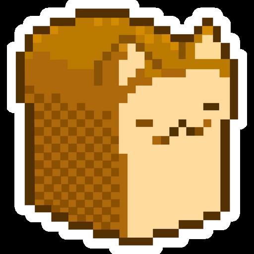 CatBread Meme Sticker