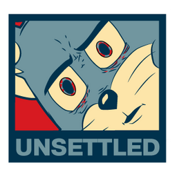 Unsettled Tom Meme Sticker