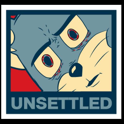 Unsettled Tom Meme Sticker