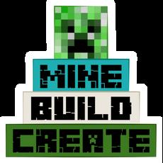 Minecraft Mine Build Create Sticker