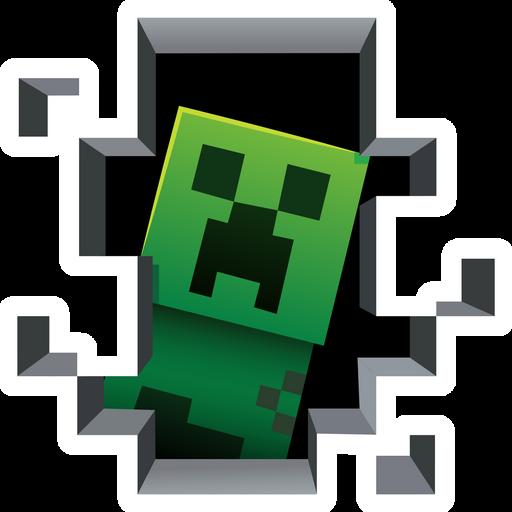 Minecraft Creeper Inside Sticker