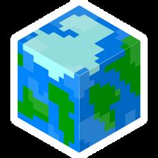 Minecraft Cube World Sticker