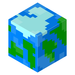 Minecraft Cube World Sticker