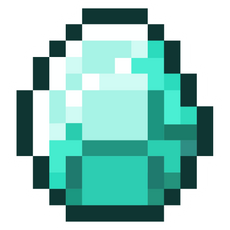 Minecraft Diamond Sticker