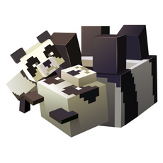 Minecraft Pandas Sticker