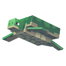 Minecraft Turtle Sticker