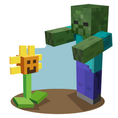 Minecraft Plants vs Zombies