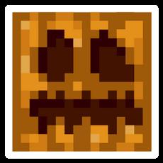 Minecraft Halloween Pumpkin