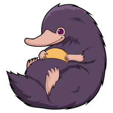 Fantastic Beasts Niffler Sticker