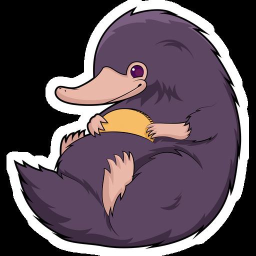 Fantastic Beasts Niffler Sticker
