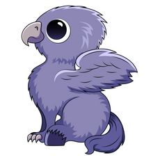 Harry Potter Cute Hippogriff Sticker
