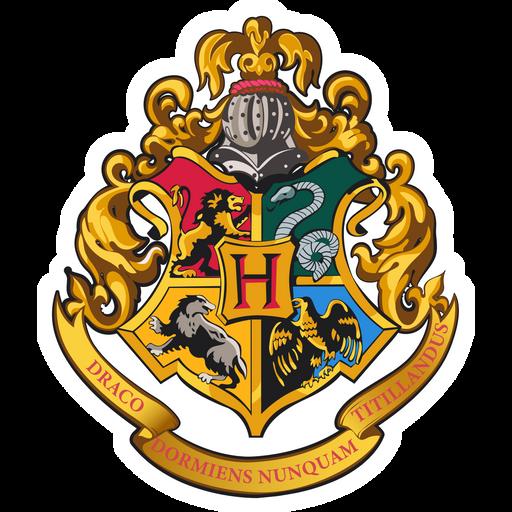 Hogwarts Logo Sticker