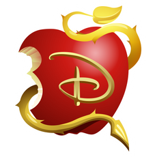 Descendants Apple Logo Sticker