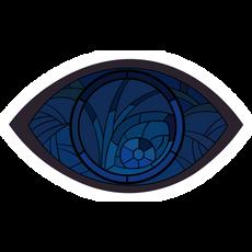 Unfortunate Events Eye Window Sticker