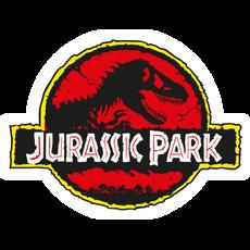 Jurassic Park Movie Logo Sticker