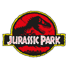 Jurassic Park Movie Logo Sticker