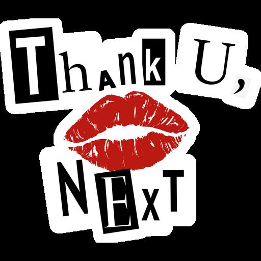 Ariana Grande Thank U, Next Sticker
