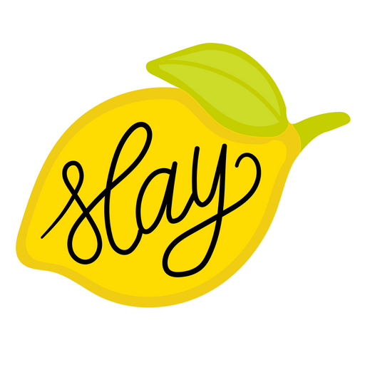 Beyonce Lemon Slay Sticker