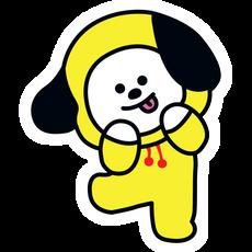 BTS BT21 Chimmy Jimin Sticker