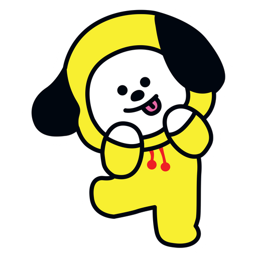 BTS BT21 Chimmy Jimin Sticker