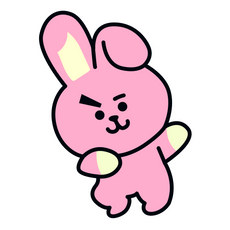 BTS BT21 Cooky Jungkook Sticker