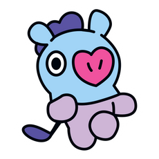 BTS BT21 Mang J-Hope Sticker