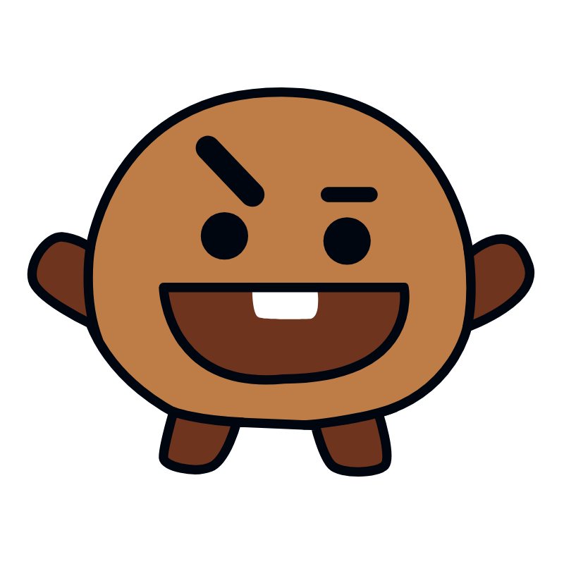 BTS BT21 Shooky Suga Sticker