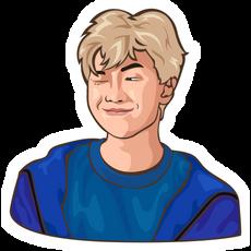 BTS RM Sticker