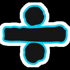 Ed Sheeran Divide Logo Sticker