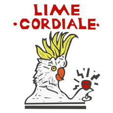 Lime Cordiale Dirt Cheap Tour Sticker