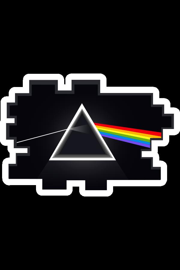 Pink Floyd Prism Sticker