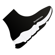 Balenciaga Speed Knitted Sneaker Sticker