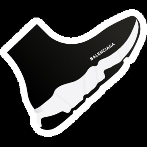 Balenciaga Speed Knitted Sneaker Sticker