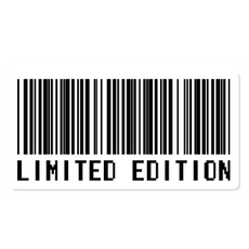 Barcode Limited Edition Sticker