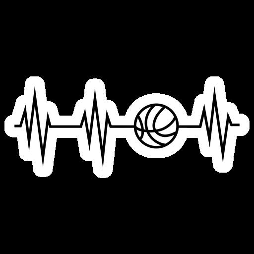 Basketball Pulse Sticker