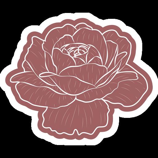 Beautiful Rose Sticker
