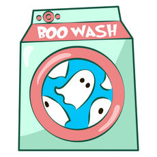 Boo Wash Sticker