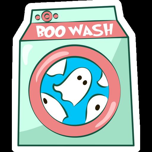 Boo Wash Sticker