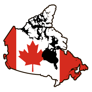 Canada Country Flag Sticker