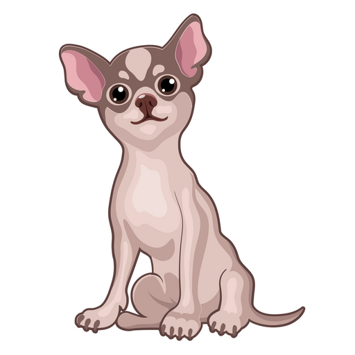 Chihuahua Puppy Sticker