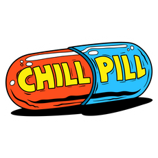 Сhill Pill Sticker