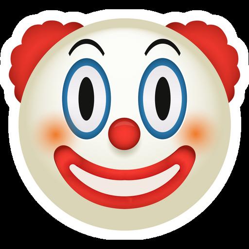 Clown Emoji Sticker
