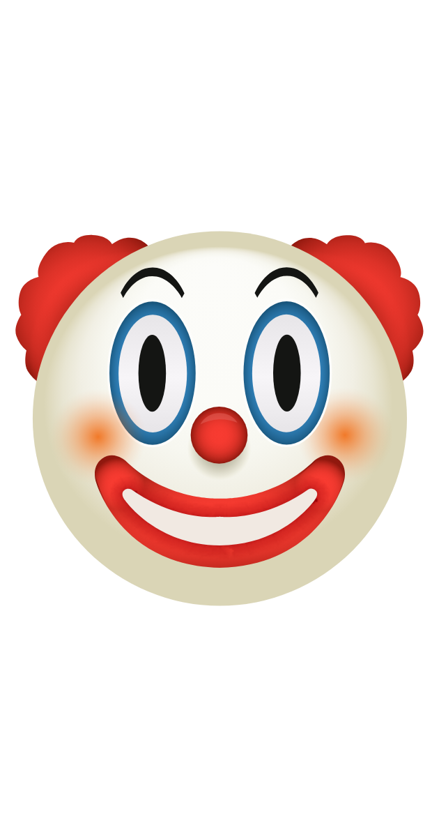 Clown Emoji Sticker
