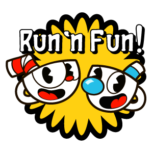 Cuphead and Mugman Run n Fun