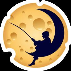 DreamWorks Cheese Round Logo Sticker