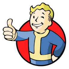 Fallout Vault-Boy Sticker